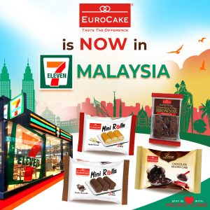 Dofreeze Eurocake Products Is Now in 7 Eleven Malaysia