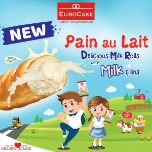 EUROCAKE - PAIN AU LAIT with Milk Filling