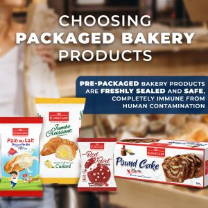Dofreeze COVID-19 Safety Precautions - Choosing Packaged Bakery Products