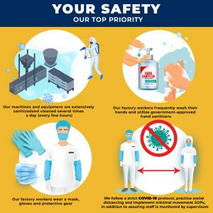 Dofreeze COVID-19 Safety Precautions - YOUR SAFETY 02