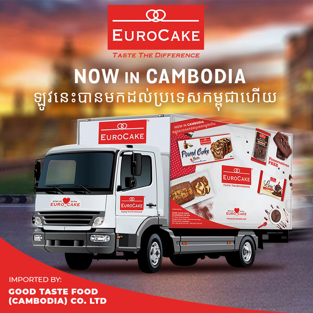 Eurocake Now Offering Premium Products in Cambodia
