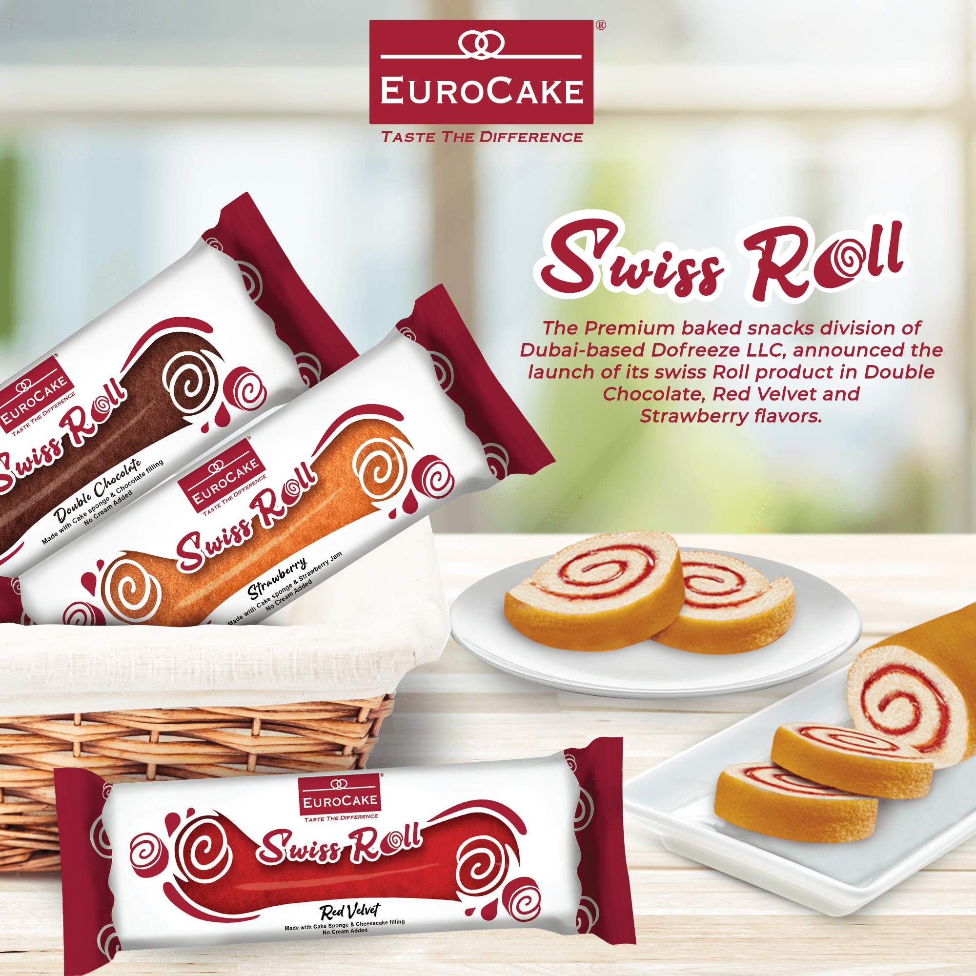Eurocake Swiss Roll Press Release Artwork