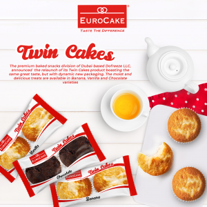 Eurocake Twin Cake Press Release Artwork